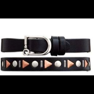 Keep Collective Reversible Double Leather Band